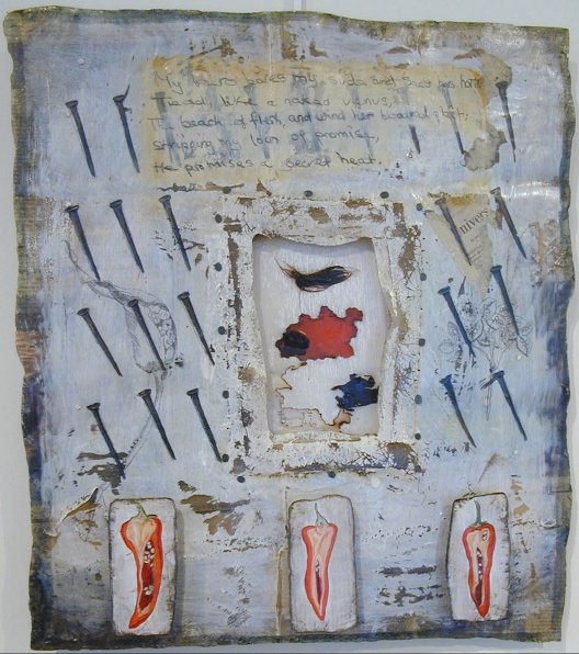 mixed media by Sheila Giolitti