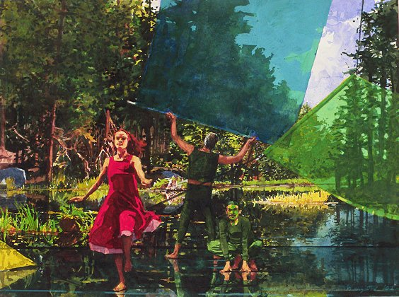 painting by John Winslow