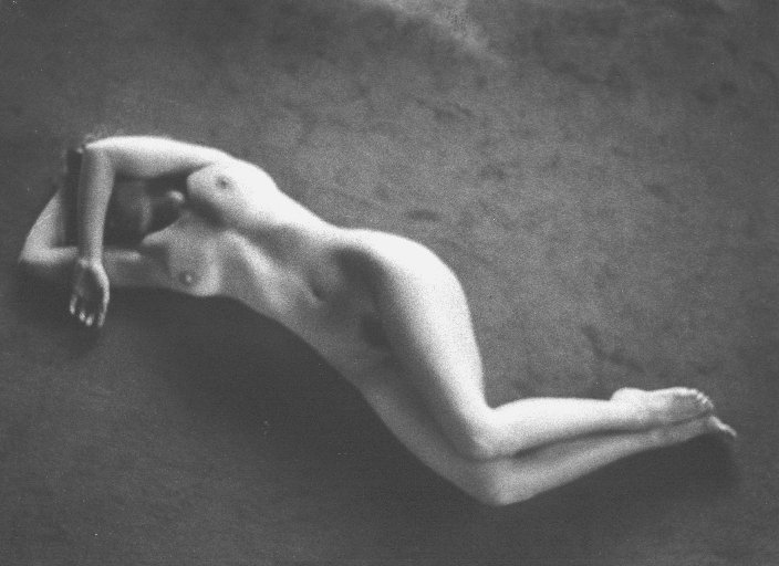 Female Nude by Lida Moser