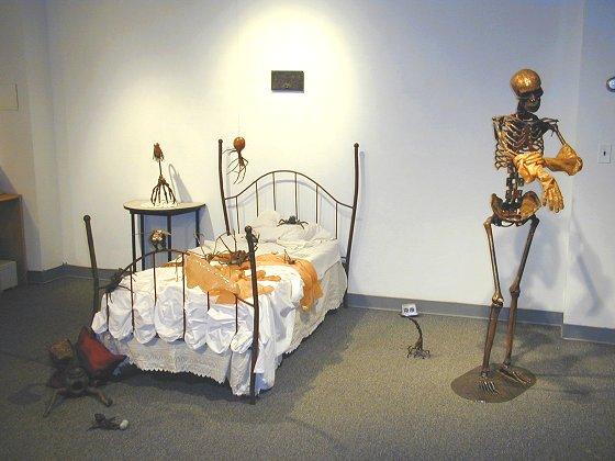 Sarah Wegner sculptures